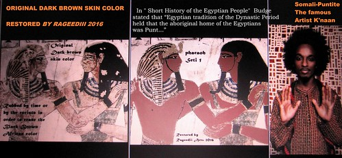 THE SKIN COLOR OF THE PHARAOHS RESTORED BY RAGEEDIII 2016