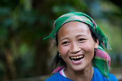 Vietnam: jeune femme de l'ethnie des Lolo noir. (claude gourlay) Tags: portrait people face asia retrato vietnam asie ethnic minority ritratti ritratto indochine caobang tonkin baolac ethnie minorit claudegourlay lolonoir