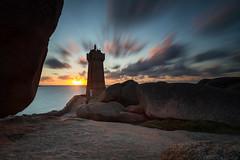 Mean Ruz sunset (JMS') Tags: longexposure sunset lighthouse seascape france landscape brittany bretagne paysage phare poselongue soleilcouchant leefilters bigstopper