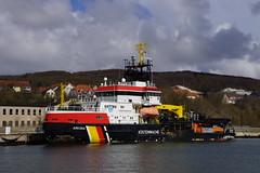 Kstenwache Arkona Stralsund im Hafen Sassnitz 24-04-2016 IMO 9285811 (marcelwijers) Tags: haven de im van hafen stralsund imo kstenwache sassnitz arkona kustwacht 9285811 24042016