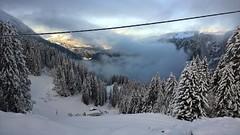 Descending into mist (eye see sound) Tags: snow france alps landscape avoriaz frenchalps
