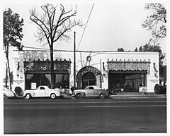 Howard Gustin Packard Co., San Jose CA, 1952 (aldenjewell) Tags: ca photo san howard jose showroom co dealership packard 1952 gustin