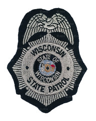 Wisconsin State Patrol Badge Patch (Nate_892) Tags: county green wisconsin bay coin conservation police grand valley badge fox milwaukee waukesha sheriff patch tribe sheboygan gresham wi chute challenge swat oneida outagamie