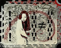logical nadir (cormaced) Tags: art girl artwork stencil phi maths ratio logic vulnerable goldenratio