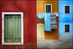 Burano..Colors.. (Raul-64) Tags: venice italy window colors italia structure venezia burano veneto