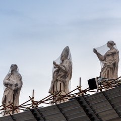 snared (mym) Tags: vatican rome statue statuary sanpietro may2013