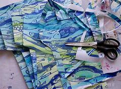 making_of_Fruehlingspost2016_5597.jpg (KristinaMariaS) Tags: screenprinting patterndesign handprintedfabric fishpattern amliebstenbunt kristinaschaper