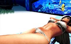 Aqua Angel (Forever, Angel) Tags: life beach island paradise underwater secondlife secondlife:y=27 secondlife:x=249 secondlife:z=6 secondlife:region=birdisland secondlife:parcel=bustysbeachislandsbritishtropicalparadise