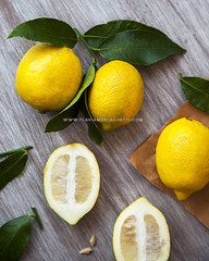 Lemons (Flavia Morlachetti Photography) Tags: stilllife food yellow fromabove lemons amarillo bodegn citrus foodie rawfood foodphotography limones ctrico foodstyling fotografadealimentos estilismoculinario fotografagastronmica flaviamorlachetti
