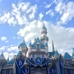 Sleeping Beauty Castle (Lennox / Sissel) Tags: castle clouds disneyland anaheim 60th fantasyland sleepingbeautycastle
