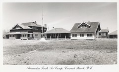 "c. 1954 J.C. Walker & Ward Postcard #7 - ""Alexandra Fresh Air Camp"" at Crescent Beach, B.C. (WhiteRockPier) Tags: bc britishcolumbia postcard walker crescentbeach ward freshaircamp campalexandra"