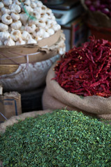 Spices Galore (Walter Quirtmair) Tags: red food india white green healthy chili natural market spice vegetable fresh spices vegetarian garlic organic chilli freshness nutrition ingredient 500px ifttt quirtmair