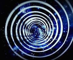 Gravitation  Spirale -  A spinning Black Hole   - rotierendes Schwarzes Loch (eagle1effi) Tags: blue space warp gravity movements gravitation s5 cameraart artexpression eagle1effi beschleunigen effiart opencamera effiarteagle1effi samsunggalaxys5 effiart2016