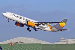 "G-MDBD Airbus A.330-243 Thomas Cook Airlines MAN 20-12-15 (PlanecrazyUK) Tags: man manchester ringway egcc airport"" thomascookairlines gmdbd airbusa330243 ""manchester 201215"