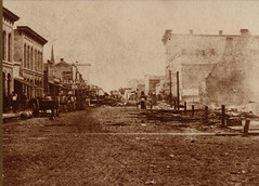 Cook Street Looking East, Early, Unpaved