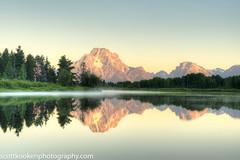 Best of 2015-267 (Scott Kooken) Tags: reflection sunrise wy oxbowbend tetonnp
