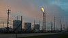 Tanks (ramseybuckeye) Tags: life road ohio plant amanda art husky lima pentax fort refinery potash chemical