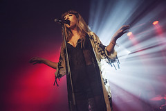 Foxes @ O2 Academy Birmingham 14 (preynolds) Tags: musician music concert birmingham raw dof singing stage gig livemusic noflash pop singer backlit mark2 stagelights soloartist tamron2470mm canon5dmarkii frontwomen counteractmagazine