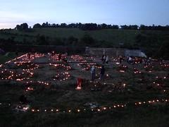 allumage des bougies autour des pieux des fondations 1