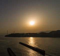 Hiroshima Sunrise (-Astin-) Tags: trip travel vacation japan hiroshima trips canon7d tokina111628