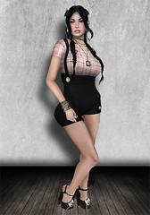 feb5-1 ([] Nieor Svir []) Tags: woman fashion hair logo style mandala poetic sl secondlife blogging hh candydoll pekka lotd maitreya meshhead annaa littlebones meshbodylara kz