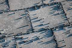 Low sun and long shadows (harald.bohn) Tags: vinter shadows january pebbles sidewalk januar grus fortau vintersol skygger
