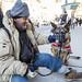 man and his dog toronto 1