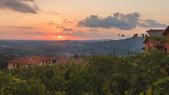 Santarcangelo (Andrey) Tags: morning summer vacation clouds sunrise landscape emiliaromagna italiy