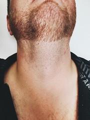 (DiegomxApple) Tags: man neck beard adamsapple