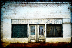 Storefront - Lawn, Texas (Groovyal) Tags: building rural train photography town store texas lawn business storefront groovyal lawntexas storefrontlawntexas