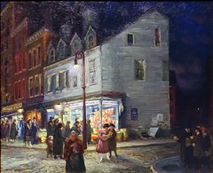 Sloan, Bleecker Street, Saturday Night, 1918