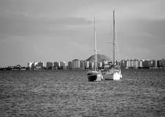 La Manga del Mar Menor_DSC9844-bw-W-1 (taocgs) Tags: sea bw espaa boats mar spain barcos bn murcia marmenor