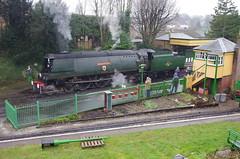 IMGP8412 (Steve Guess) Tags: uk england train engine loco hampshire steam gb locomotive alton westcountry ropley alresford hants wadebridge fourmarks 462 bulleid medstead 34007