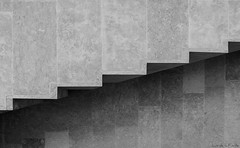Parallel universe / Universo paralelo (Luis DLF) Tags: bw byn lines architecture stairs arquitectura steps asturias explore museo universe parallel escaleras rectangules
