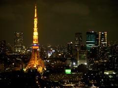 E-PL6  (ishizima) Tags: city tower japan tokyo tokyotower roppongi nightview roppngihills