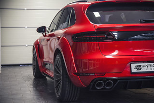 Prior Design Porsche Macan Wide Body Kit Side Skrits Fender flares Turbo