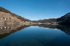 Winter in Davos (swissgoldeneagle) Tags: blue sky lake schweiz switzerland see himmel davos blau blauerhimmel ch graubnden grisons graubuenden rx100 rx100m4