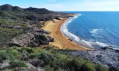 Brillante invierno en Calblanque - Cartagena (Gabriel Navarro Carretero) Tags: sea costa landscape mar playa paisaje cartagena calblanque