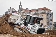 CAT 963D (Alexandre Prvot) Tags: construction construccin lorraine worksite buildingsite travaux chantier cugn grandnancy baustellebauplatz