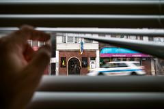 (033/366) Police Outside My Window (CarusoPhoto) Tags: street chicago window project john outside photo dc day village view blind little pentax random police scene photoaday l blinds peek hd re 365 serendipity caruso wr ks2 366 1850mm f456 project365 pentaxda project366 carusophoto hdpentaxdal1850mmf456dcwrre