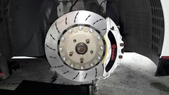 Nissan GT-R Mounted with WP Pro 2-Piece Rotor Kit (vividracing) Tags: nissan suspension brakes gtr calipers rotors brakepads wppro