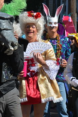Socit de Ste. Anne 120 (Omunene) Tags: costumes party fun neworleans parade alcohol mardigras partytime faubourgmarigny licentiousness neworleansmardigras walkingparade socitdesteanne mardigras2016 alcoholfueledlicentiousness roylstreet