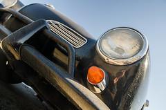 Rare February cruising (GmanViz) Tags: sky color detail 1969 car volkswagen nikon automobile bumper headlight karmannghia gmanviz d7000