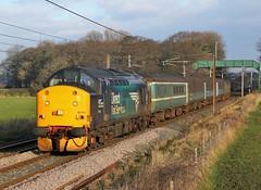 37716 passes Brock (Ross Taylor pictures 2015) Tags: uk england rail brock preston february carlisle services direct 2016 drs lancshire class37 37423 37716 2c32