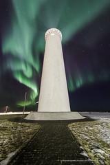 Garðskagi. (Kjartan Guðmundur) Tags: nightphotography iceland ngc nocturne garður northernlights auroraborealis norðurljós top20aurora