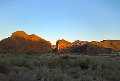 The Gap (Ms. Jen) Tags: california arizona sandstone rocks desert gap coloradoriver parker goldenhour bigrocks lumia photobyjeniferhanen parkerdamroad lumia950 lumiavoicestrial