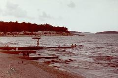 Pore - Autokamp Zelena Laguna (glanerbrug.info) Tags: strand 1987 zee istri kroati joegoslavi