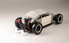 Salty Bug _03 (_Tiler) Tags: car vw race volkswagen lego hotrod vehicle ratrod volksrod