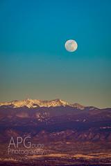 Sangre Moonrise (APGougePhotography) Tags: new moon snow mountains mexico nikon full adobe moonrise cristo sangre d800 lightroom adobelightroom nikond800