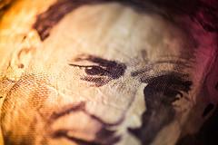 Macro Money (Snoopy_1352) Tags: money macro uruguay dof depthoffield lightleak edit uruguayanpeso